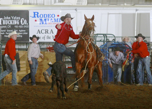 Tie Down Roping Champion JC King