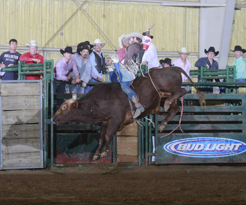 Bull Riding Champion Guthrie Murray on Blisard Rodeo's #11